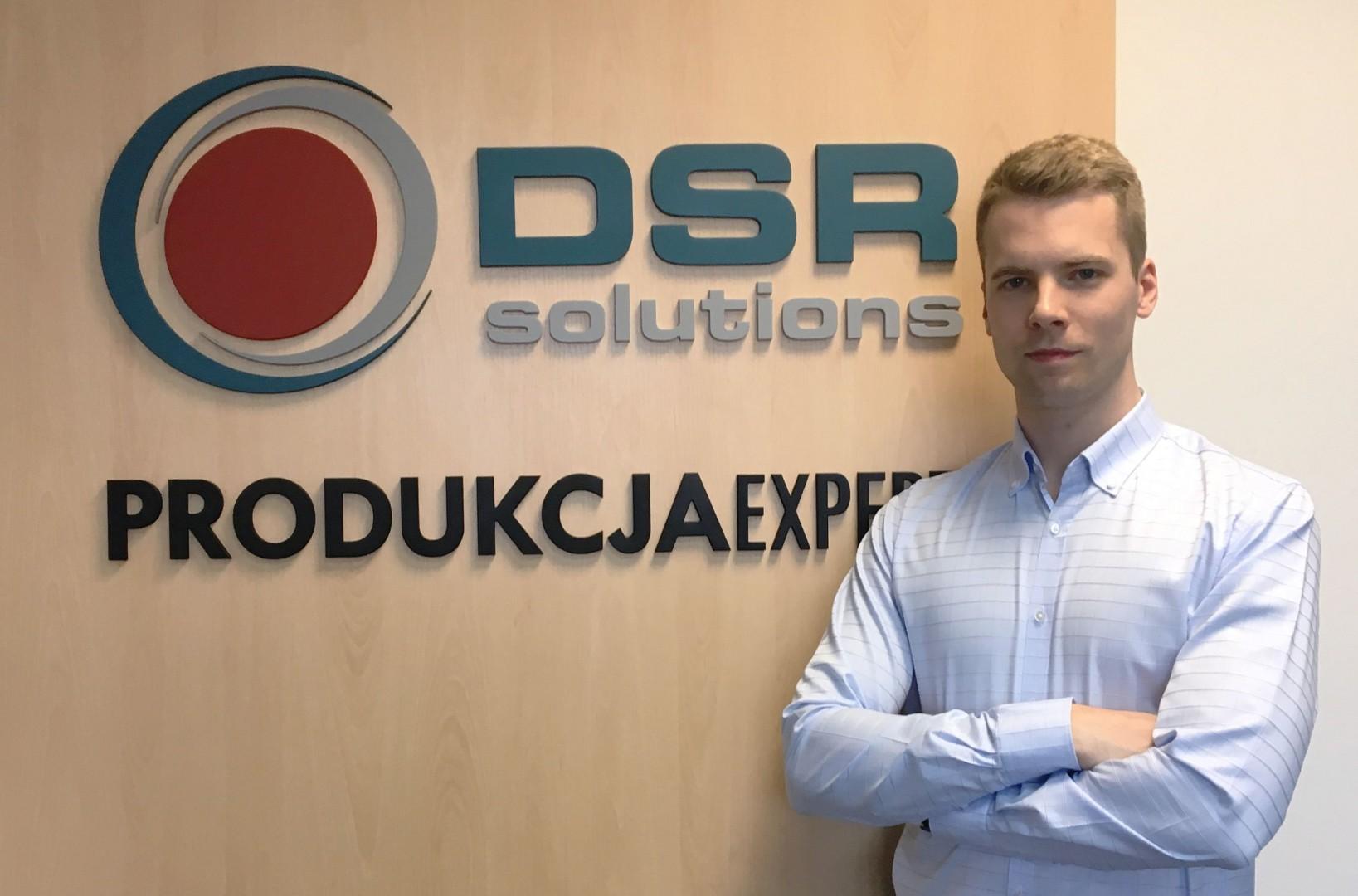 Jan Skowroński, R&D manager w DSR, spółce specjalizującej się w zaawansowanych rozwiązaniach informatycznych dla przemysłu. Fot. DSR