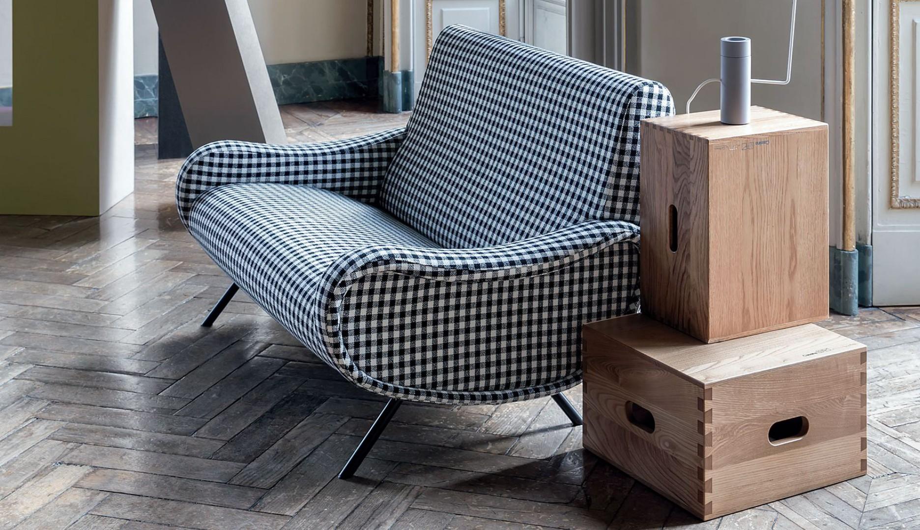 Sofa 720 Lady Divano firmy Cassina. Projekt: Marco Zanuso. Fot. Cassina