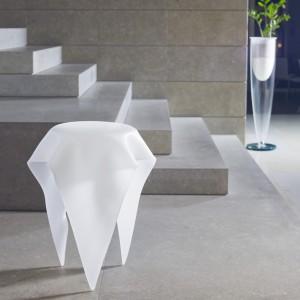Stolik ze szkła Murano firmy Reflex. Fot. Reflex