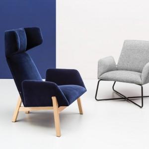 Fotele z kolekcji Manta. Fot. Noti