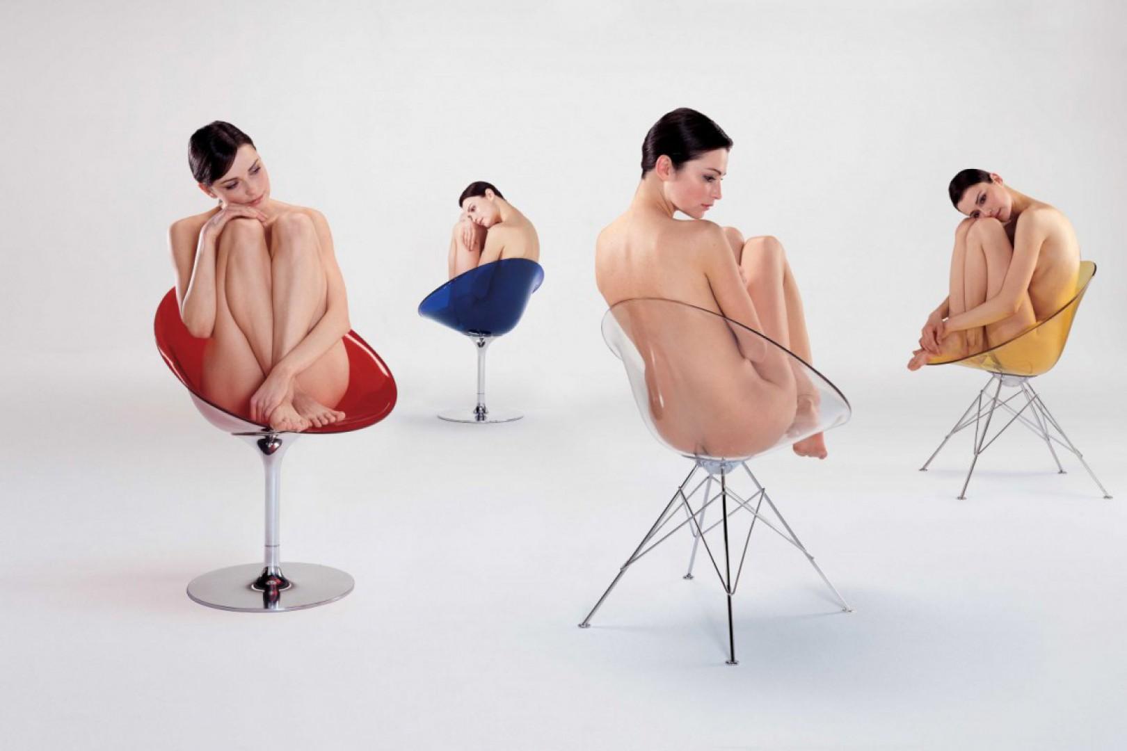 Krzesła zaprojektowane przez Philippe'a Starcka dla firmy Kartell. Fot. Kartell.jpg