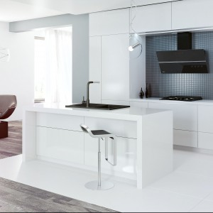 Kuchnia w mieszkaniu pod klucz. Fot. Kernau
