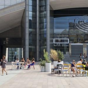 Za projekt odpowiada zespół architektów z Atelier Starzak Strebicki wraz z City3 i Laurą Muyldermans. Fot. Julie Guiches © European Union 2016