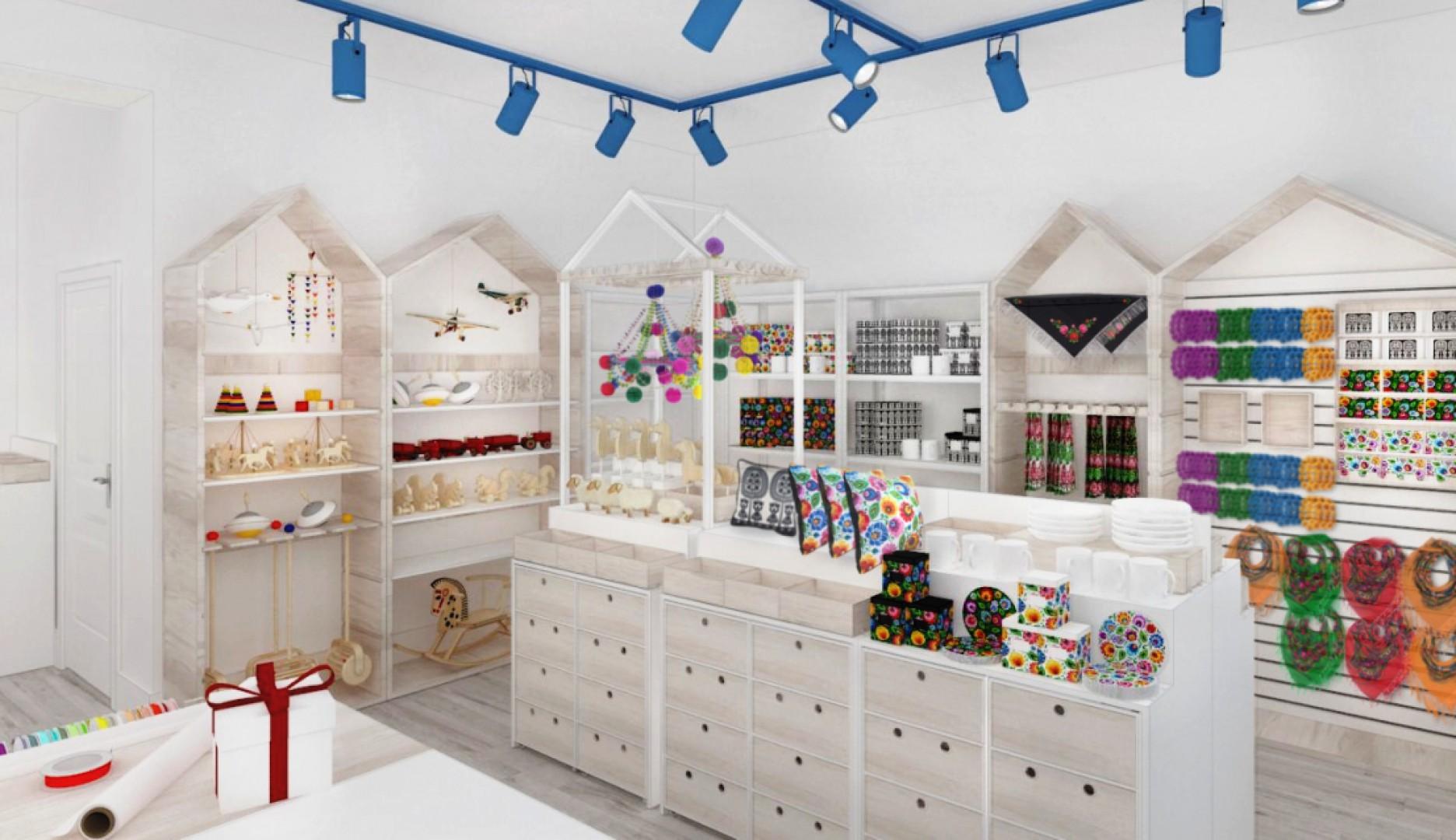 Architekci z Forbis Group specjalnie dla marki Folkstar zaprojektowali wnętrze sklepu. Fot. Forbis Group
