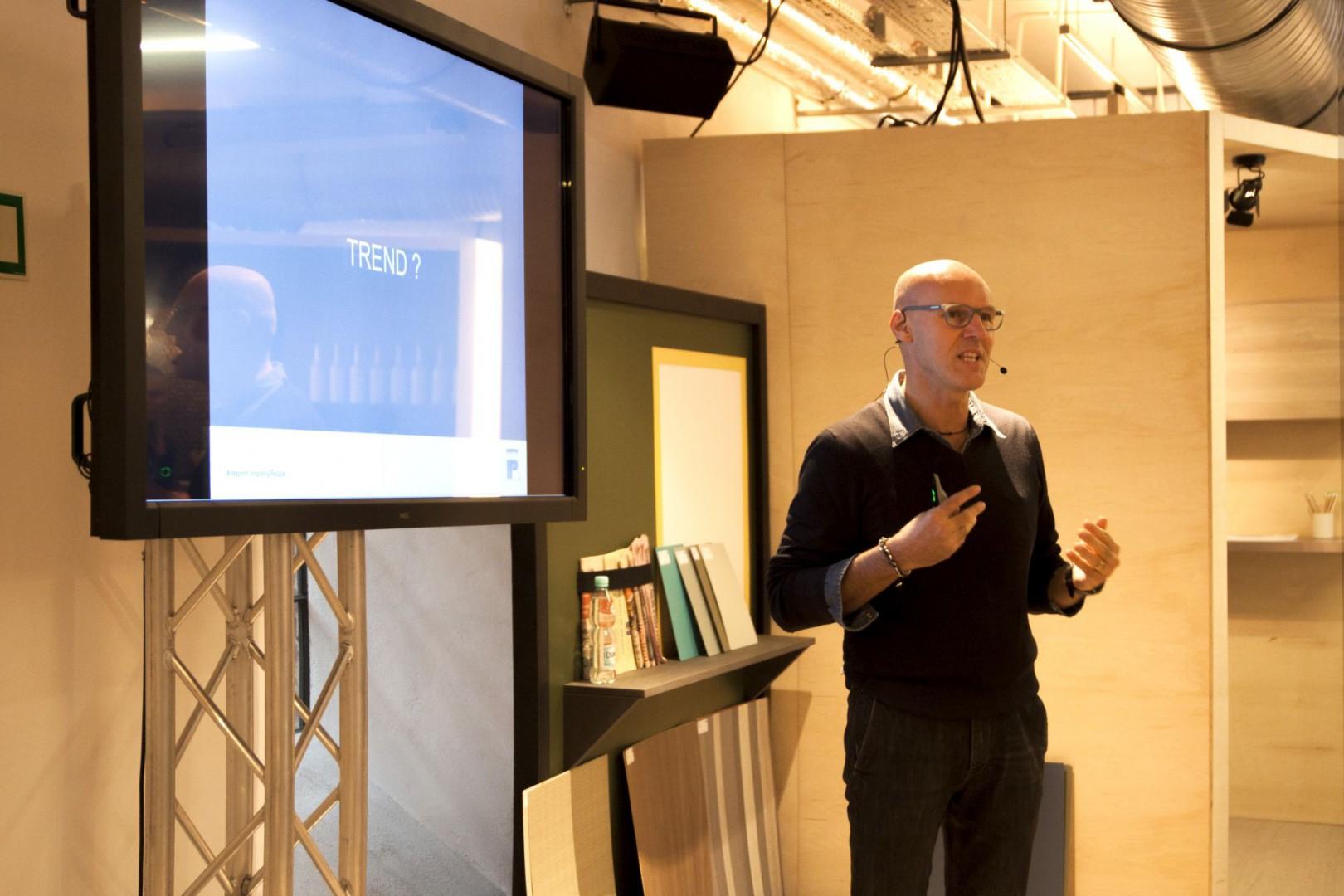 Maurizio Burrato przygotuje Power Speech. Fot. Interprint