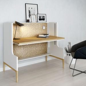 Biurko Nest z ruchomym blatem; projekt Tomasz Augustyniak dla Mikomax Smart Office. Fot. Mikomax Smart Office