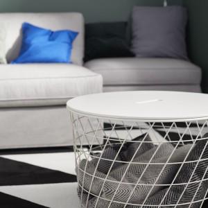 Kvistbro - stolik z miejscem do przechowywania. Fot. IKEA