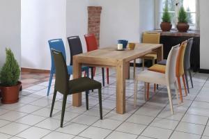 Jak dopasować krzesła do stołu? Jadalnia inna niż wszystkie!