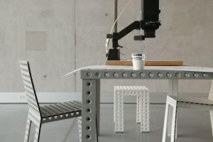 Metal, beton, kompozyty - zobacz, z czego można zrobić meble