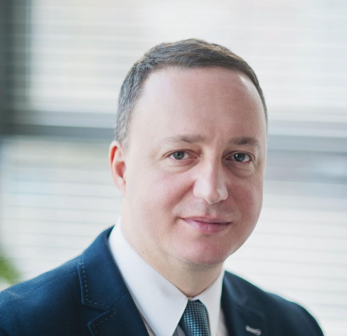 Grzegorz Smoliński - Prezes Zarządu Warmińsko-Mazurskiej Specjalnej Strefy Ekonomicznej SA.