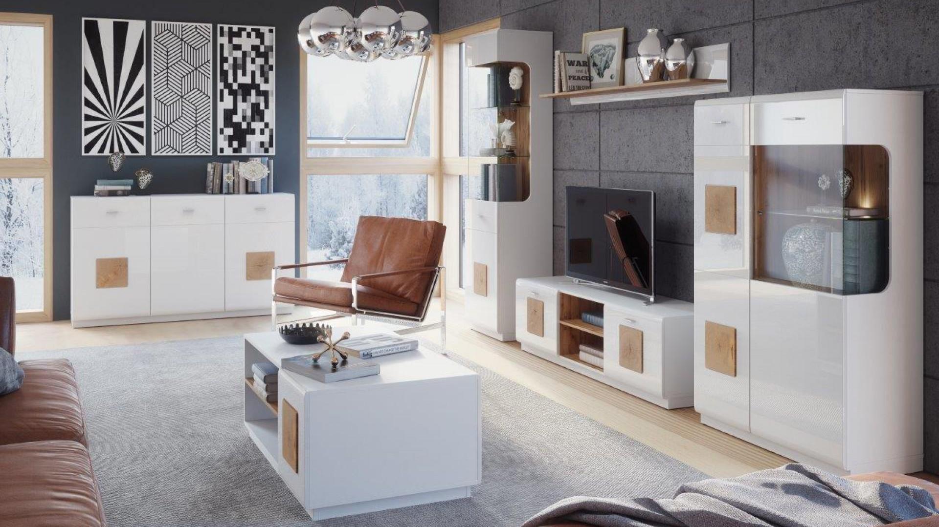 Trendy w meblarstwie: białe meble do pokoju dziennego i jadalni