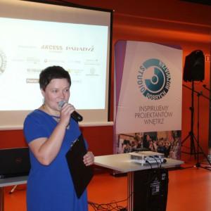 Spotkanie z cyklu Studio Dobrych Rozwiązań z ramienia organizatora poprowadziła Justyna Łotowska