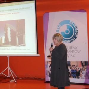 Gościem specjalnym spotkania była prof. Ewa Kuryłowicz, architekt, wiceprezes autorskiej pracowni Kuryłowicx&Associates