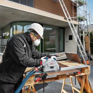 Zastosowanie nowych tarcz pilarskich firmy Bosch. Fot. Bosch