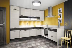 Dwukolorowe kuchnie - przepis na niebanalne wnętrze