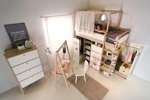 Łóżko piętrowe - funkcjonalne rozwiązanie do pokoju dziecięcego