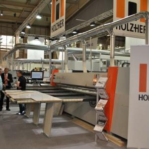 Stoisko firmy Holzher na targach