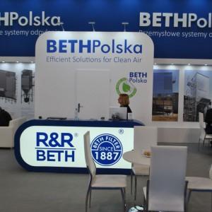 Stoisko firmy Beth Polska na targach