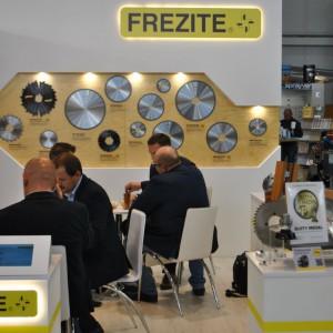 Stoisko firmy Frezite na targach