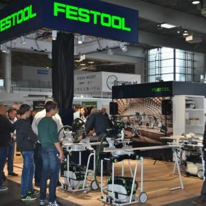 Stoisko firmy Festool na targach