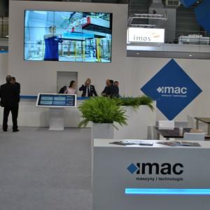 Stoisko firmy IMAC na targach