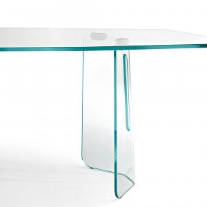 Szklany stół. Fot. Fiam