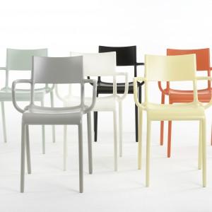 Krzesła z oferty firmy Kartell