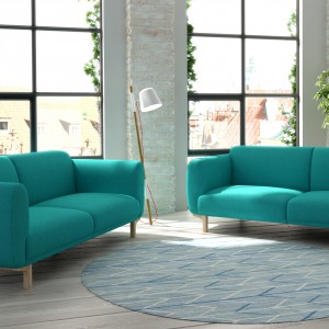 Bliźniacze sofy z serii Enna. Fot. Adriana Furniture