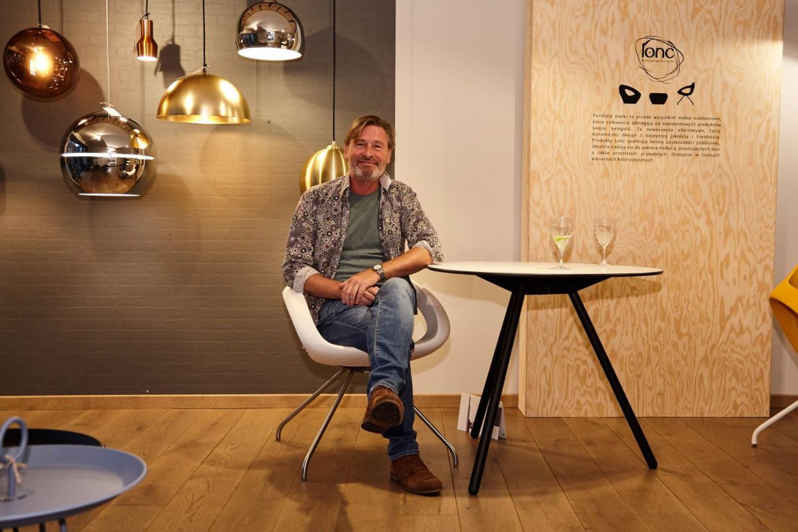 Elvin den Haan, twórca marki Lonc. Fot. BM Housing