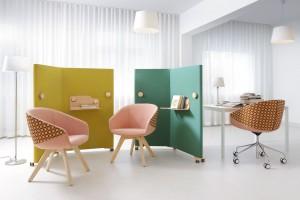 Jak zapewnić komfort w biurze? Zobacz designerskie panele i ścianki akustyczne