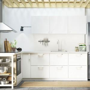 Mała kuchnia też może wyglądać efektownie. Fot. IKEA