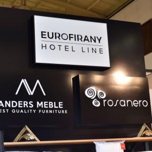 Stoisko firm Anders Meble i Eurofirany na targach