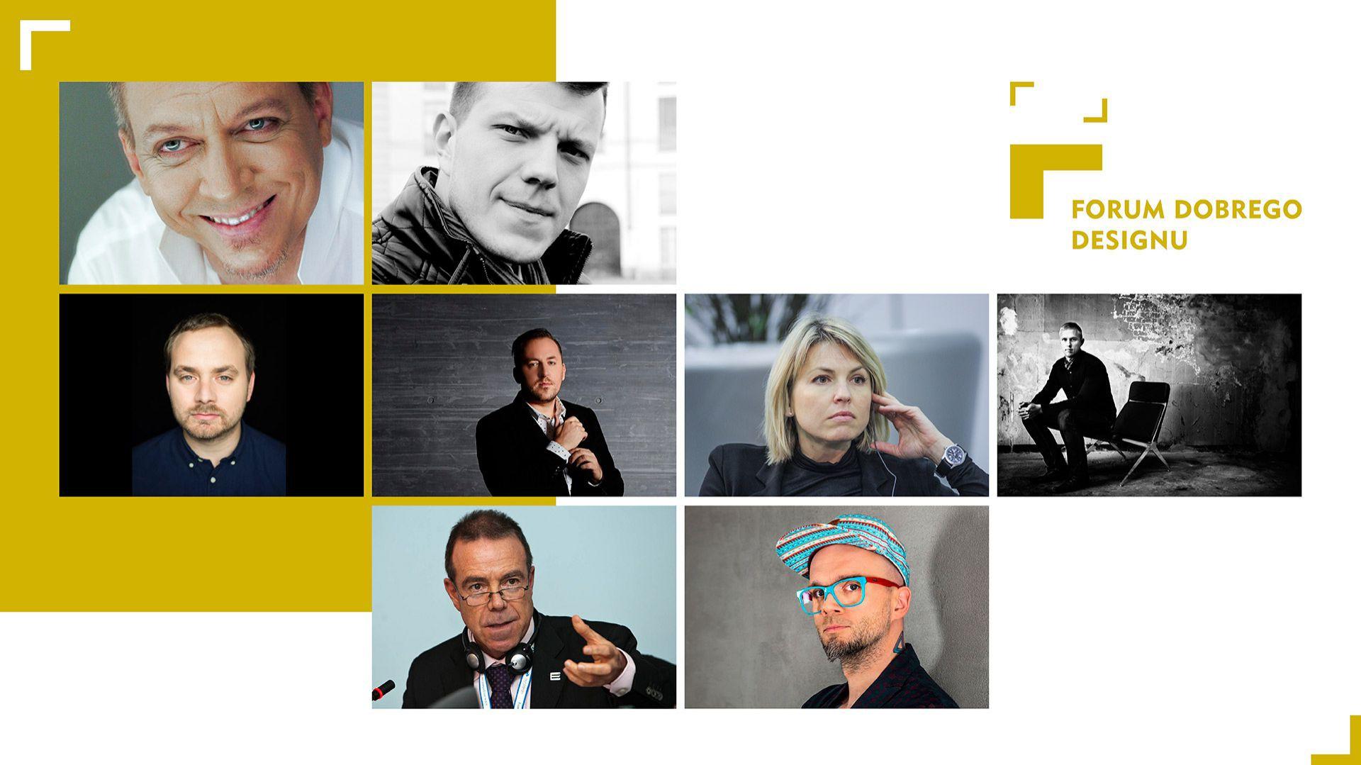 Goście specjalni Forum Dobrego Designu 2017