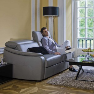Skórzana sofa Romanza. Fot. Kler