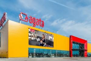 Trwa budowa nowego Salonu Agata w Gorzowie Wielkopolskim