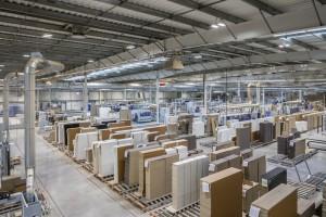 Dynamika produkcji sprzedanej mebli w styczniu 2018 roku