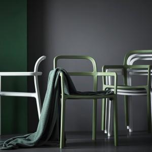 Krzesło z podłokietnikami z kolekcji