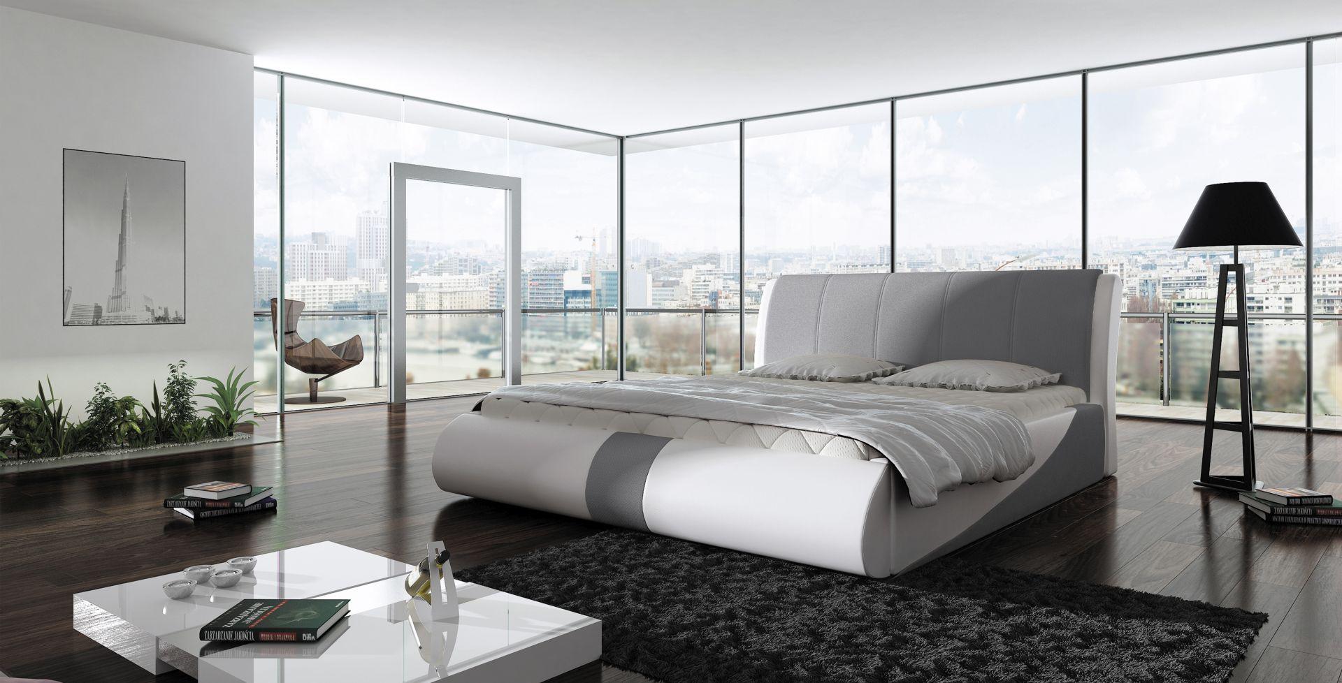 Łóżko tapicerowane Presto. Fot. Wersal