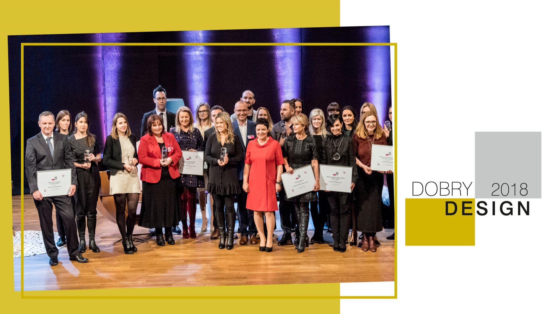Gala wręczenia nagród w konkursie Dobry Design.