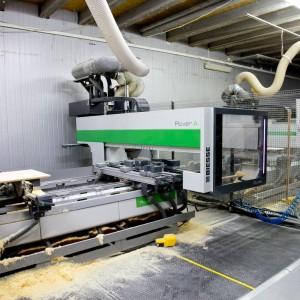 W zakładzie Woodica pracuje sterowane numerycznie 5-osiowe centrum obróbcze