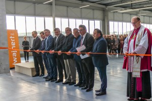 Otwarcie nowej hali firmy Wajnert Meble