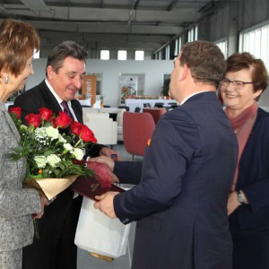 Uroczyste otwarcie nowej hali produkcyjnej firmy Wajnert Meble. Fot. Wajnert Meble