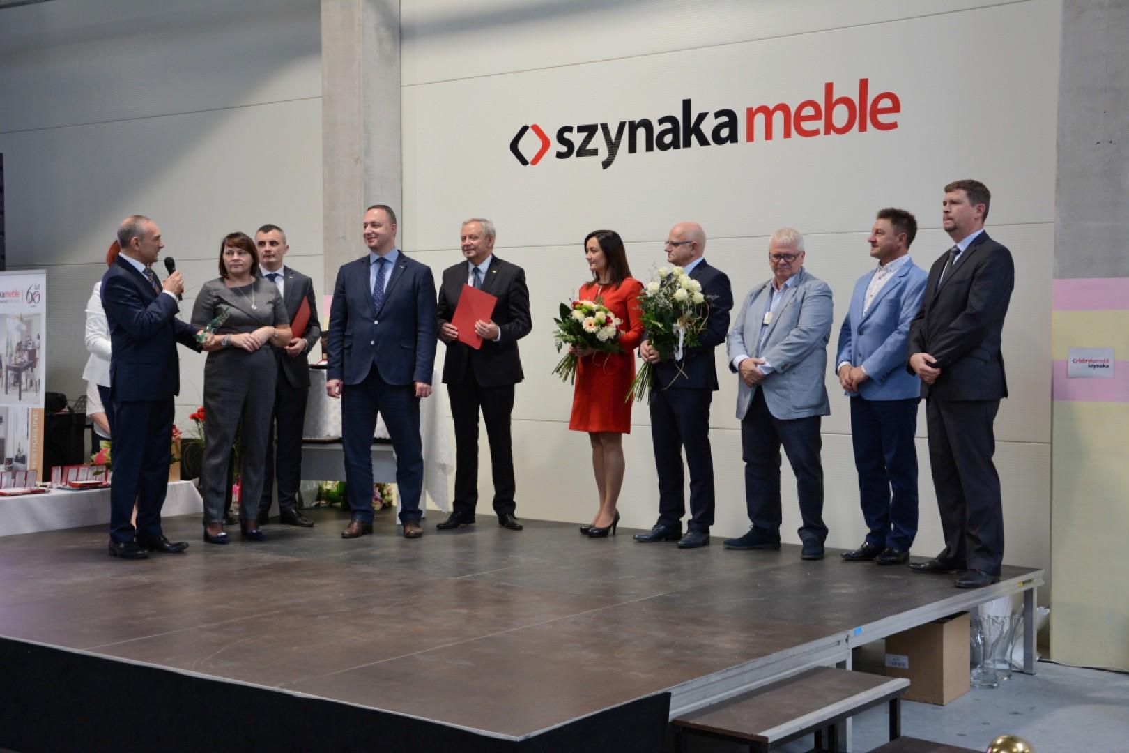 Uroczyste otwarcie nowej hali firmy Szynaka Meble