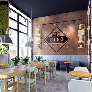 Kawiarnia Etno Cafe to przykład modnego stylu eko. Fot. Forbis Group