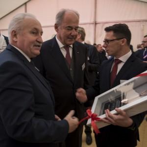 Gustaw Brzezin, Michael Egger, Waldemar Zawiślak