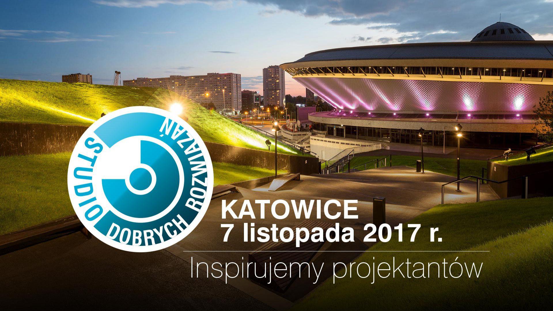 Kolejna odsłona Studia Dobrych Rozwiązań odbędzie się w Katowicach.
