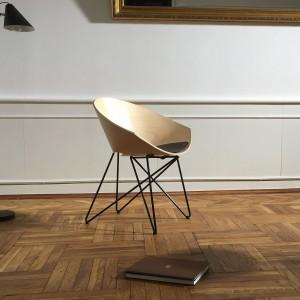 Krzesło RM 56 Wood marki Vzór. Fot. Vzór