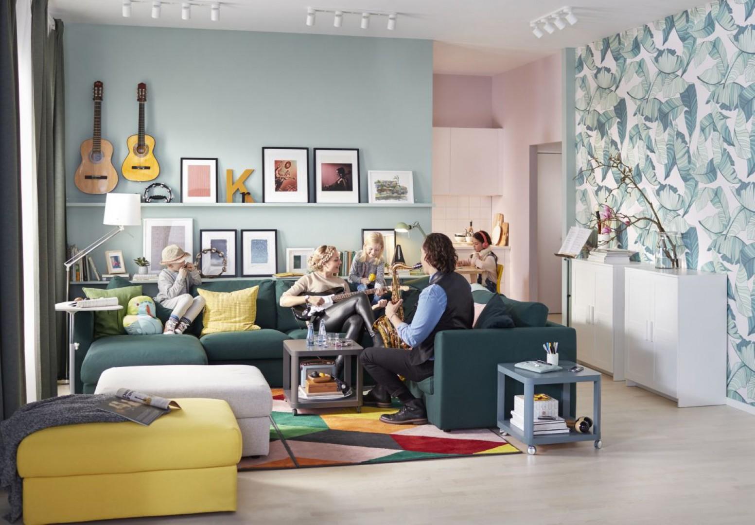 Sofa narożna Vimle firmy IKEA. Fot. IKEA