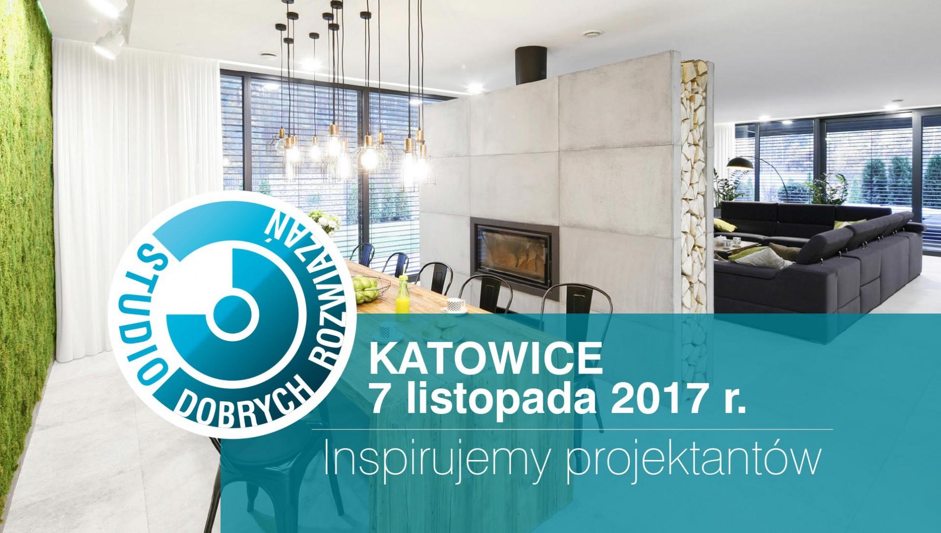 Studio Dobrych Rozwiązań w Katowicach odbędzie się 7 listopada.