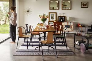 Krzesła ze sklejki - design, który potrafi zaskoczyć